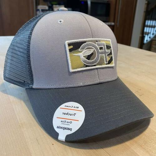 fcd anvil patch trucker hat new