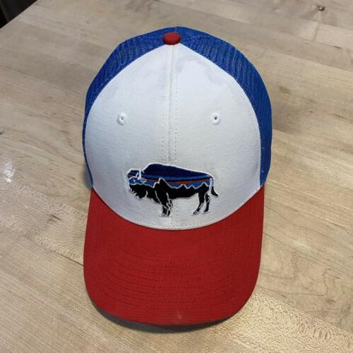 Patagonia Trucker Hat - Good With Fire Red