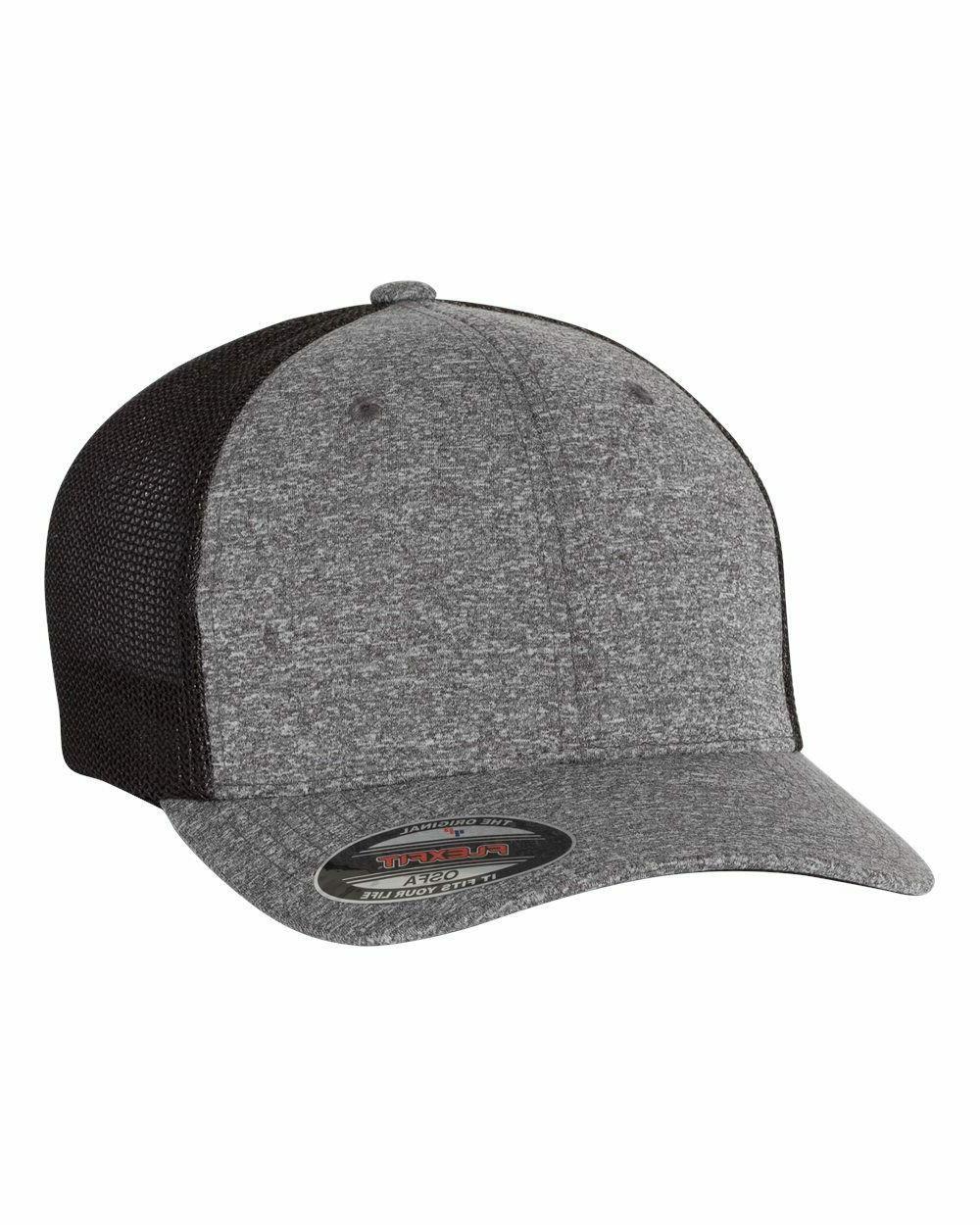 FLEXFIT POLY JERSEY STRETCH Dri-fit MESH TRUCKER CAP, 6311