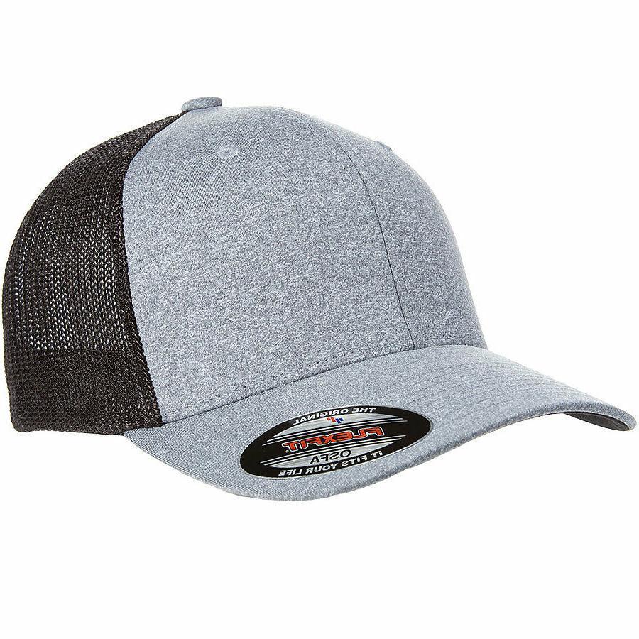 FLEXFIT - JERSEY TRUCKER CAP, YUPOONG,