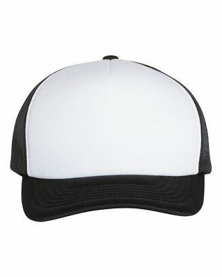 Yupoong Foam with Curved Hat 6320 five-panel, high-profile