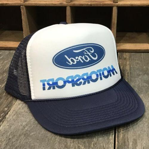 Ford SVT Trucker Hat Mesh Navy