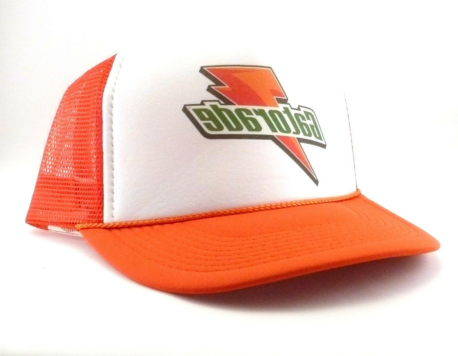Gatorade hat Hat mesh orange New