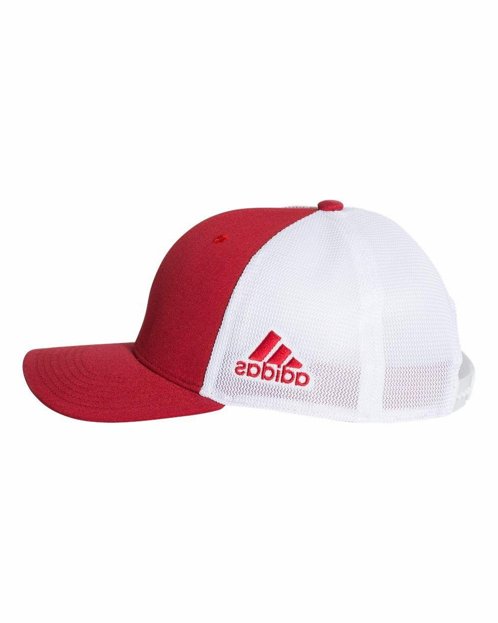 ADIDAS Adjustable Mesh Trucker Baseball Hat, SIZES