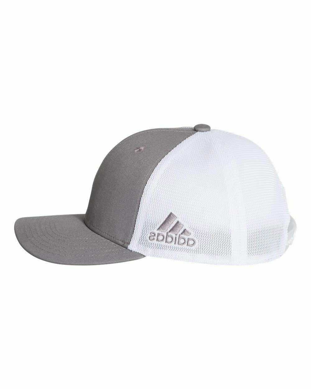 ADIDAS Men's Adjustable Mesh Back Baseball Hat,