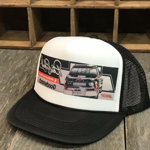 goodwrench chevy racing team vintage 80s trucker