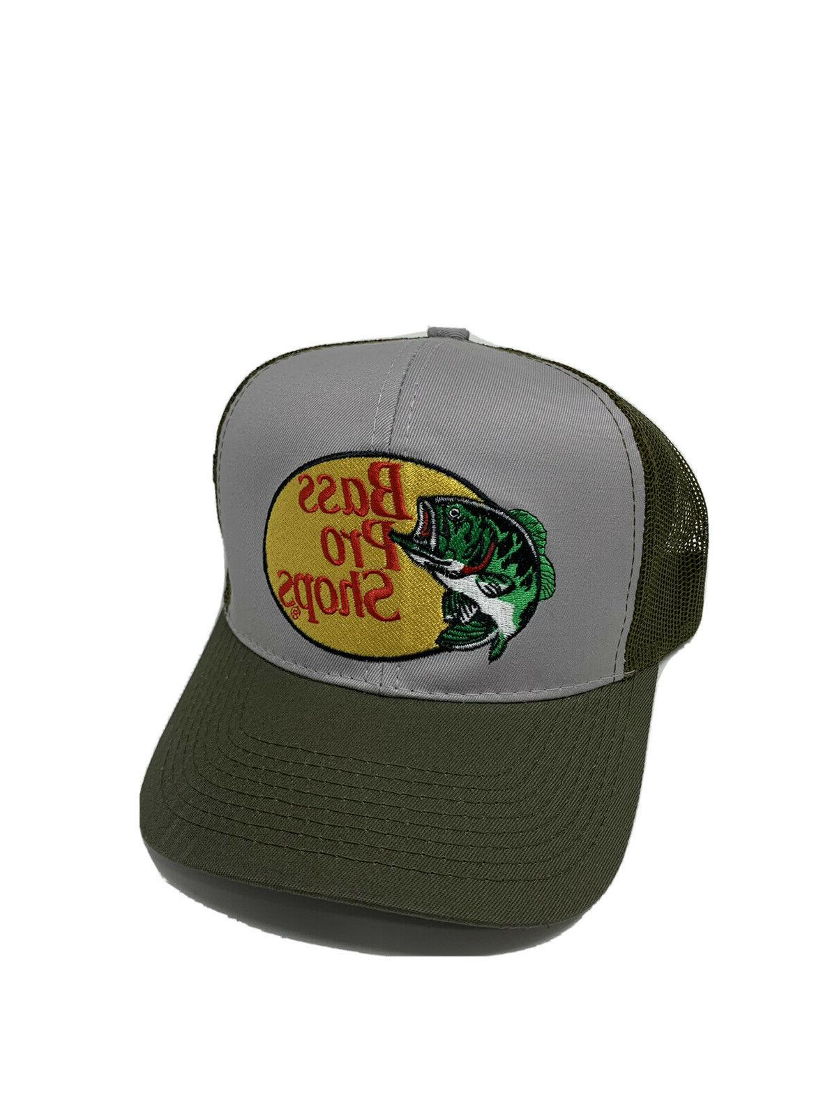 Bass Embroidered Mesh Hunting Trucker
