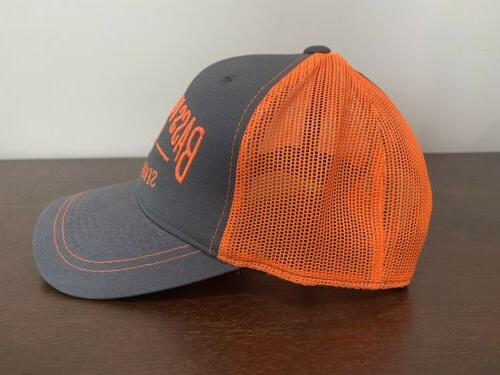 Bass Pro Hat Embroidered Trucker Mesh Cap Snapback Fishing