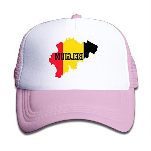 hot topic belgium flag map youth snapback cap hat boys girls