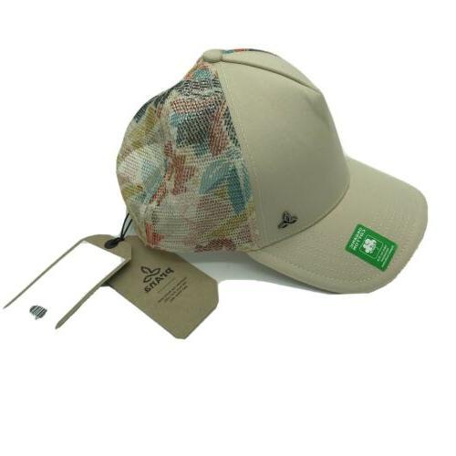 idalis trucker hat floral mesh snapback organic