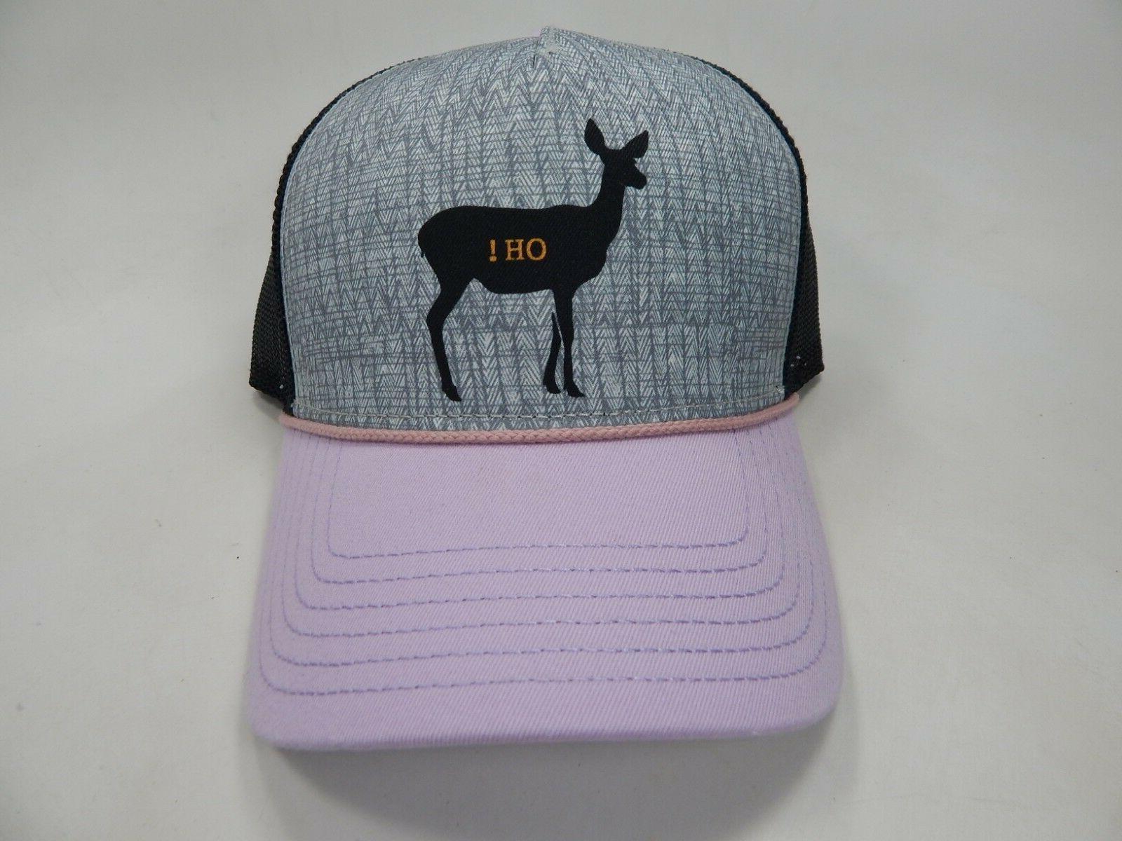 journeyman oh deer adjustable snapback curved bill