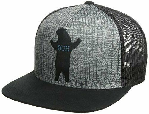 journeyman trucker bear hug hat
