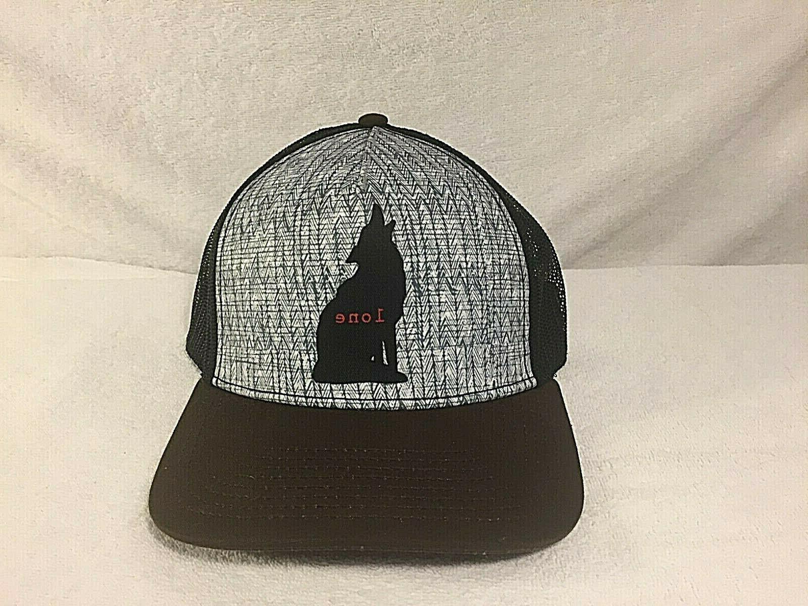 journeyman trucker hat men s wolf pack