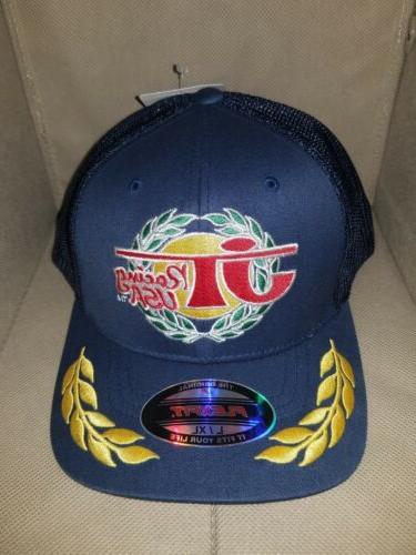 JT Racing USA Trucker Baseball Cap L/XL Flex Fit hat