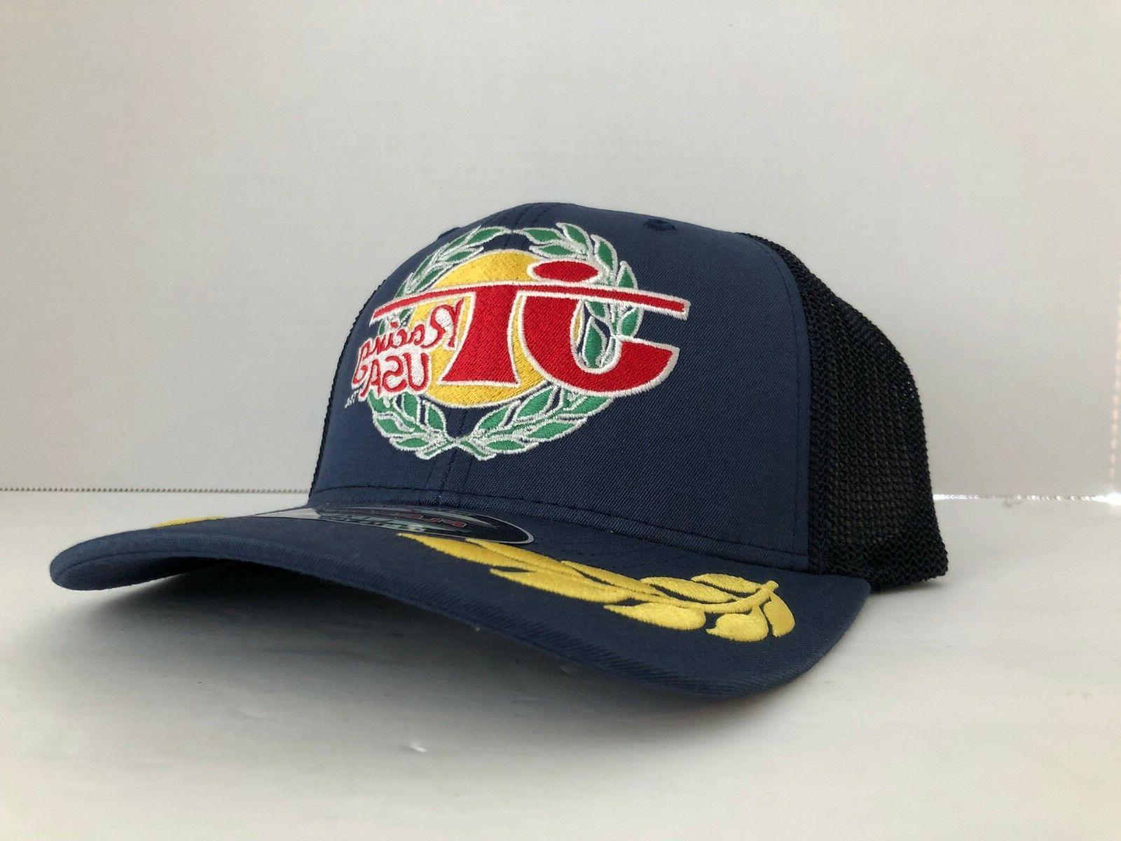 JT Racing USA Trucker Blue Flex Fit New