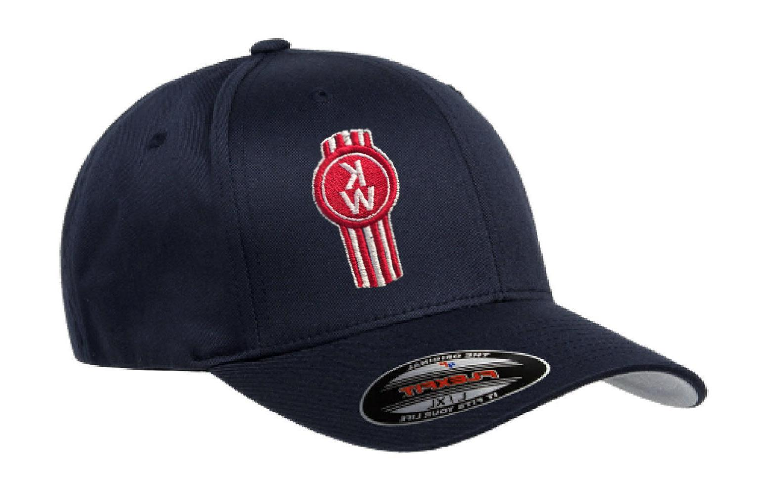 kenworth kw hat cap fitted curved bill