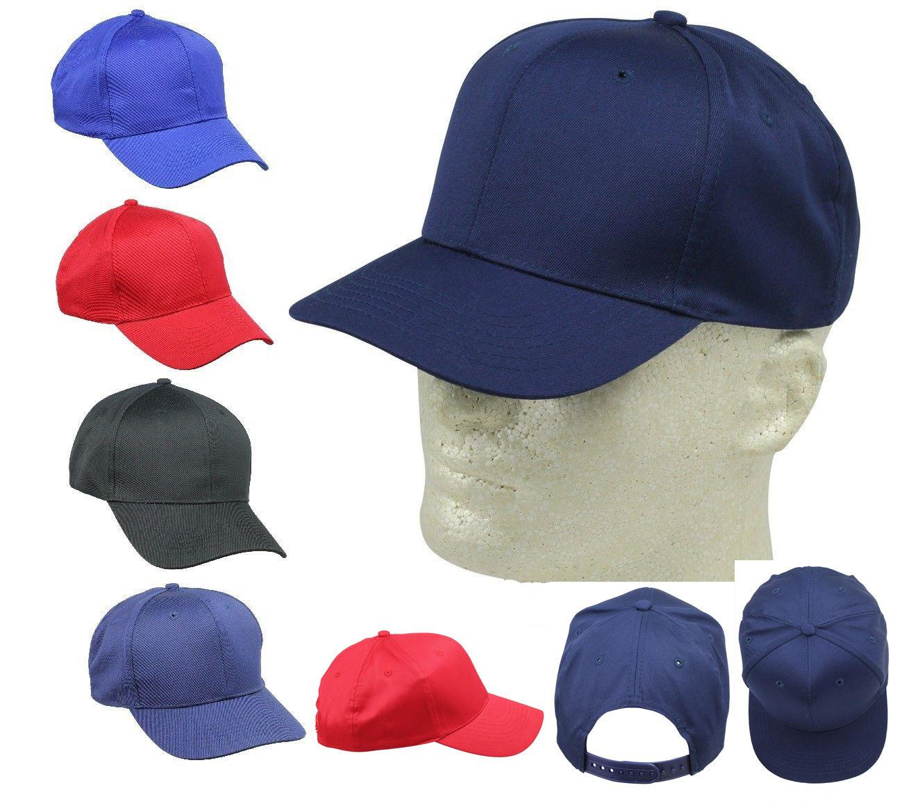 Kid's Cap Youth Caps Mesh Blank Blue