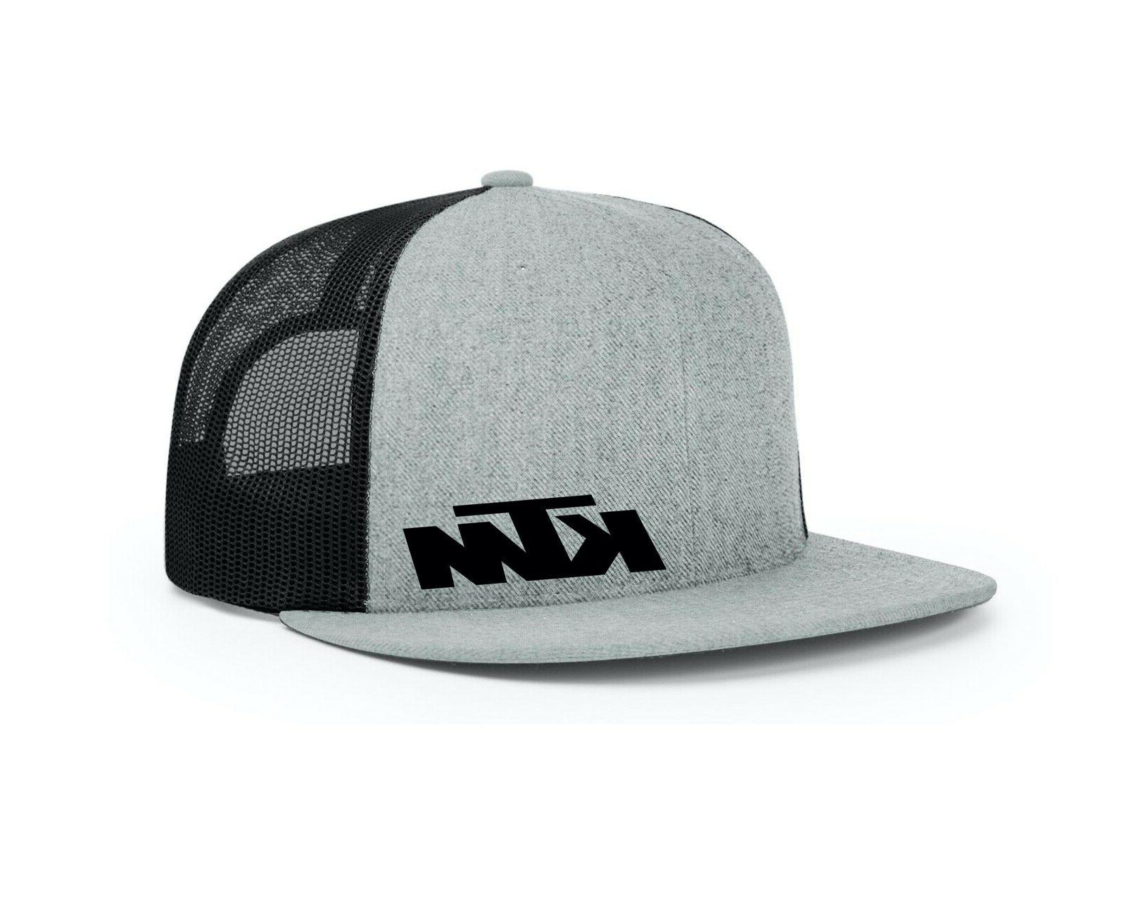 ktm 511 flat bill snapback trucker hat