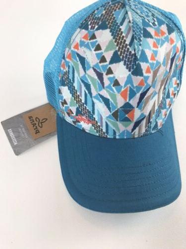 prAna Viva Adjustable Snapback Trucker Hat Unisex Logo NWT