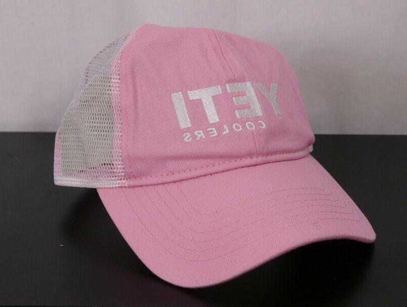 YETI® Ladies Pink Low Pro Trucker Hat - FREE SHIPPING