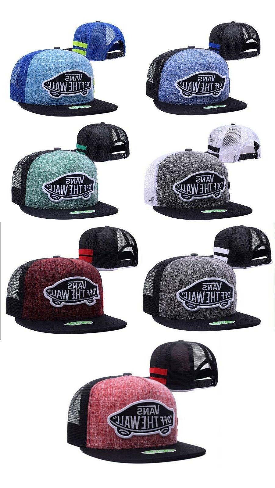 latest style baseball trucker hats flat brim
