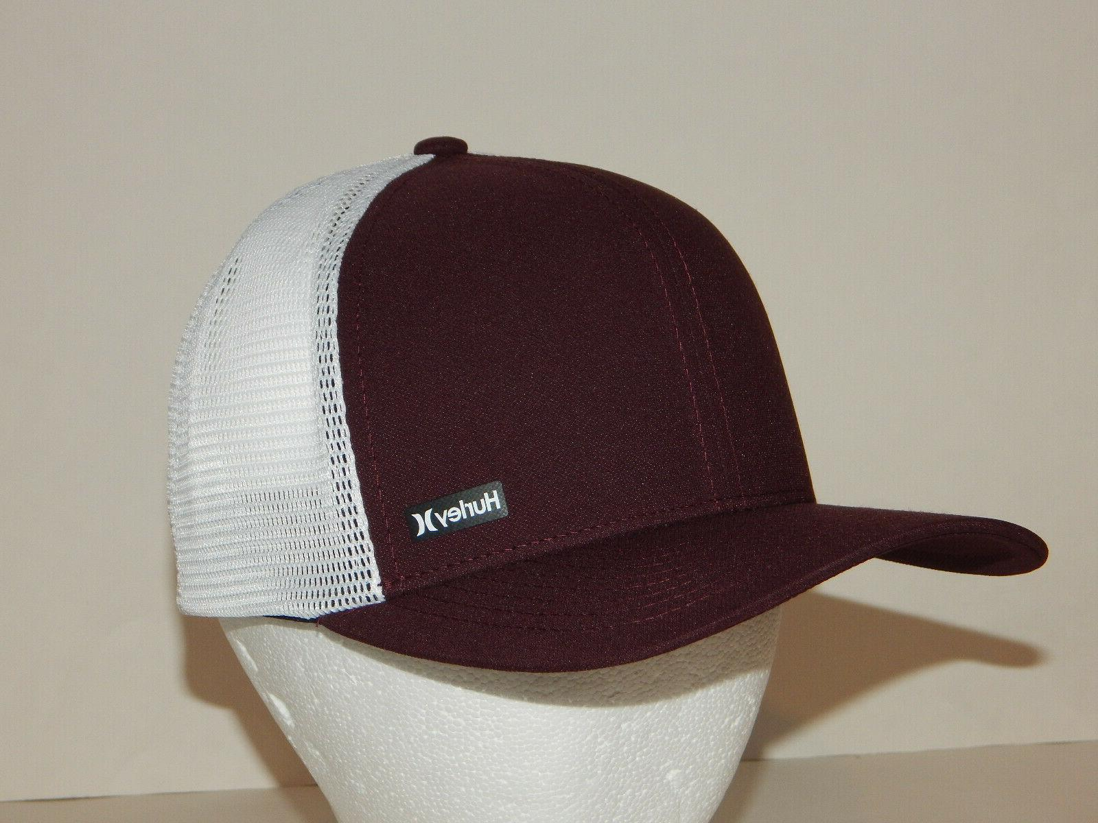 league trucker hat cap mesh snapback maroon