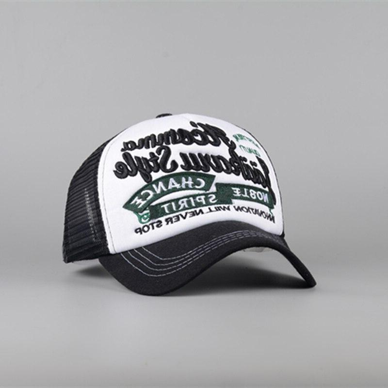 Leisure baseball men rebound <font><b>hat</b></font> dad cap summer shiny <font><b>hat</b></font> <font><b>trucker</b></font> caps
