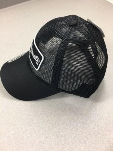 Black BC Patch Adjustable Trucker Hat Black