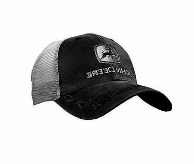 log black mesh trucker ball cap hat