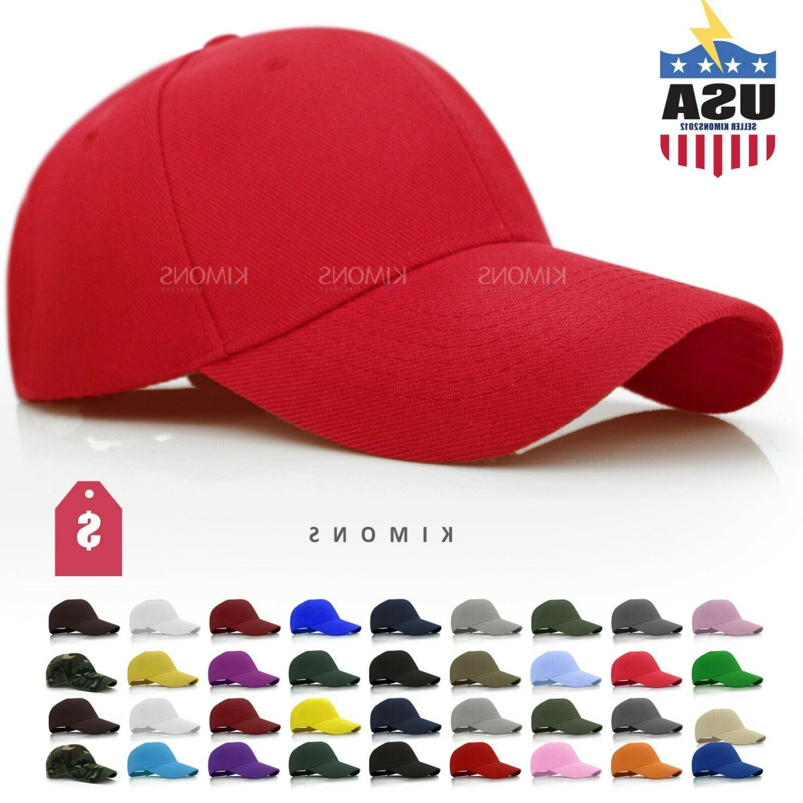 loop plain baseball cap solid color blank