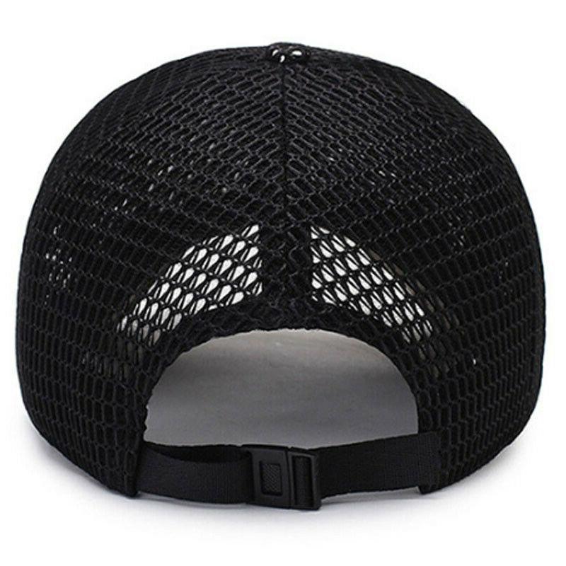 Men's Baseball Hat Snapback Mesh Blank Caps