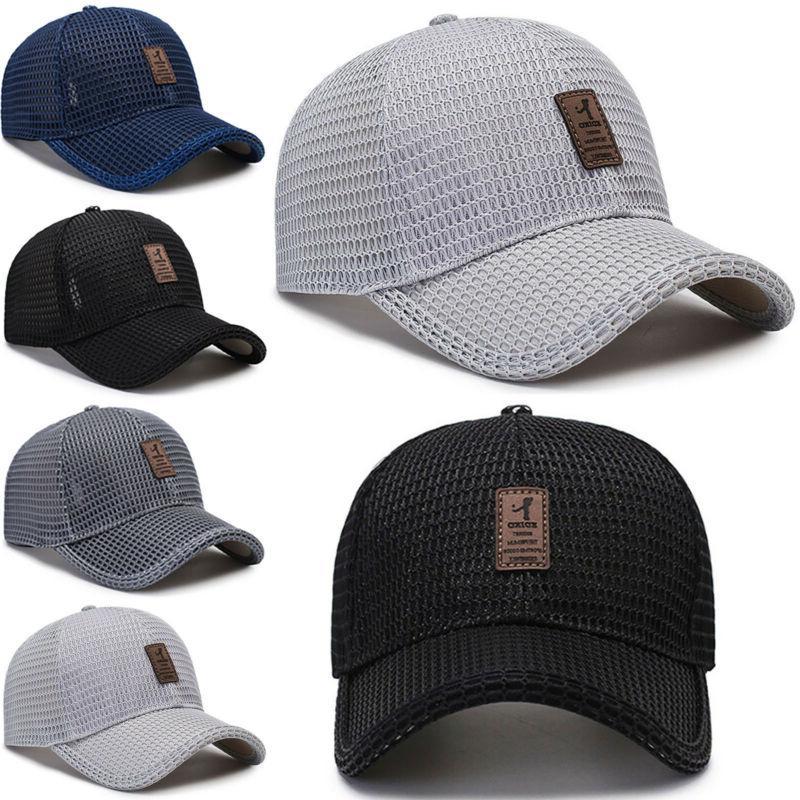 Men's Cap Hat Visor Mesh Blank Caps