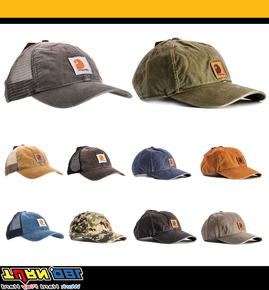 Carhartt Men's Buffalo Odessa Cap Cotton Canvas Adjustable H