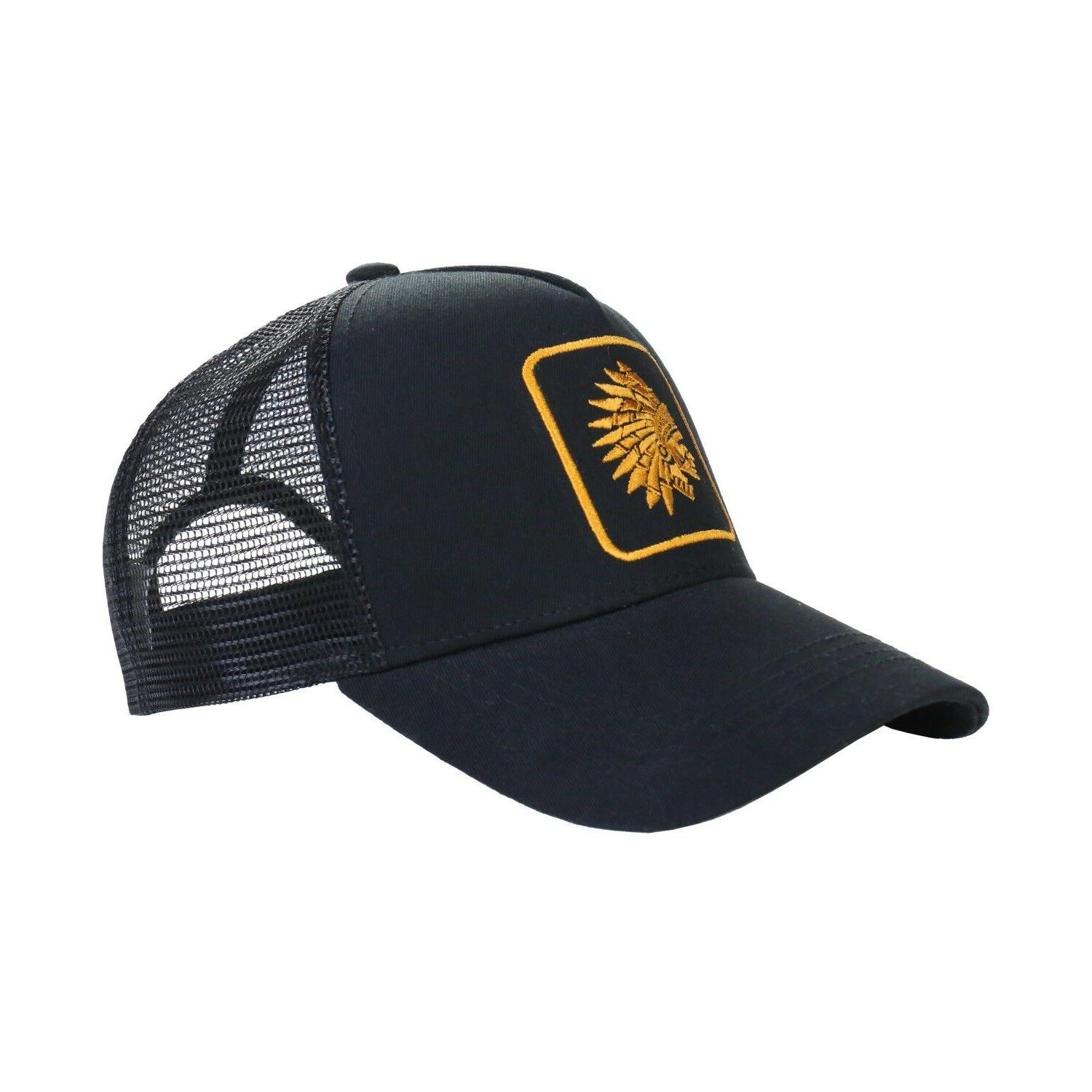 men s chief head snapback adjustable mesh