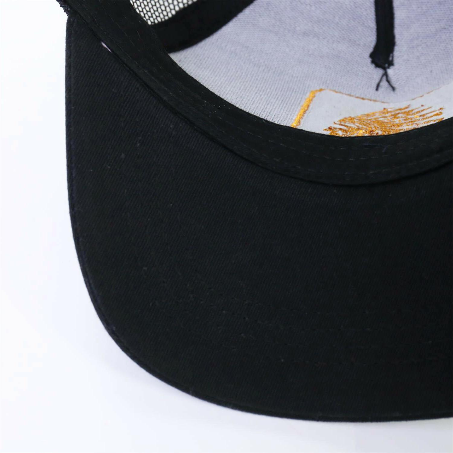 Men's Snapback Hat Black