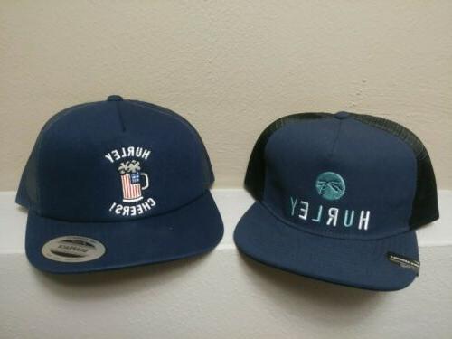 Hurley Men's Made In The Shade Mesh Panel Trucker Hat Cap Sn