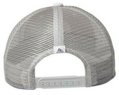 Adidas Stretch Fit Baseball Cap Mesh Snapback White