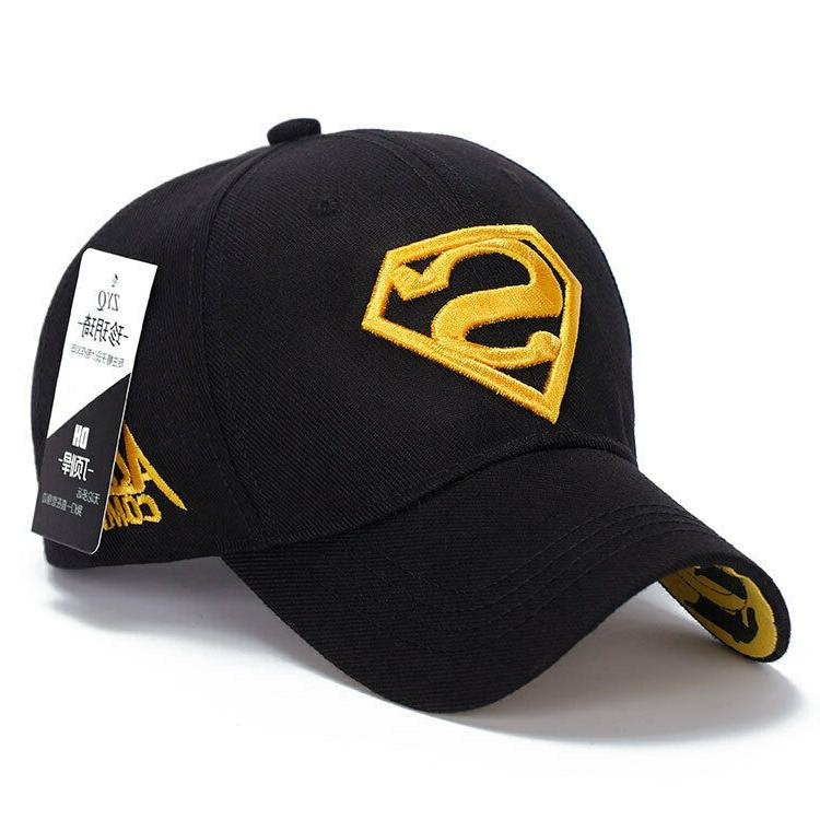 Men Superman Baseball Cap Snapback Adjustable Trucker