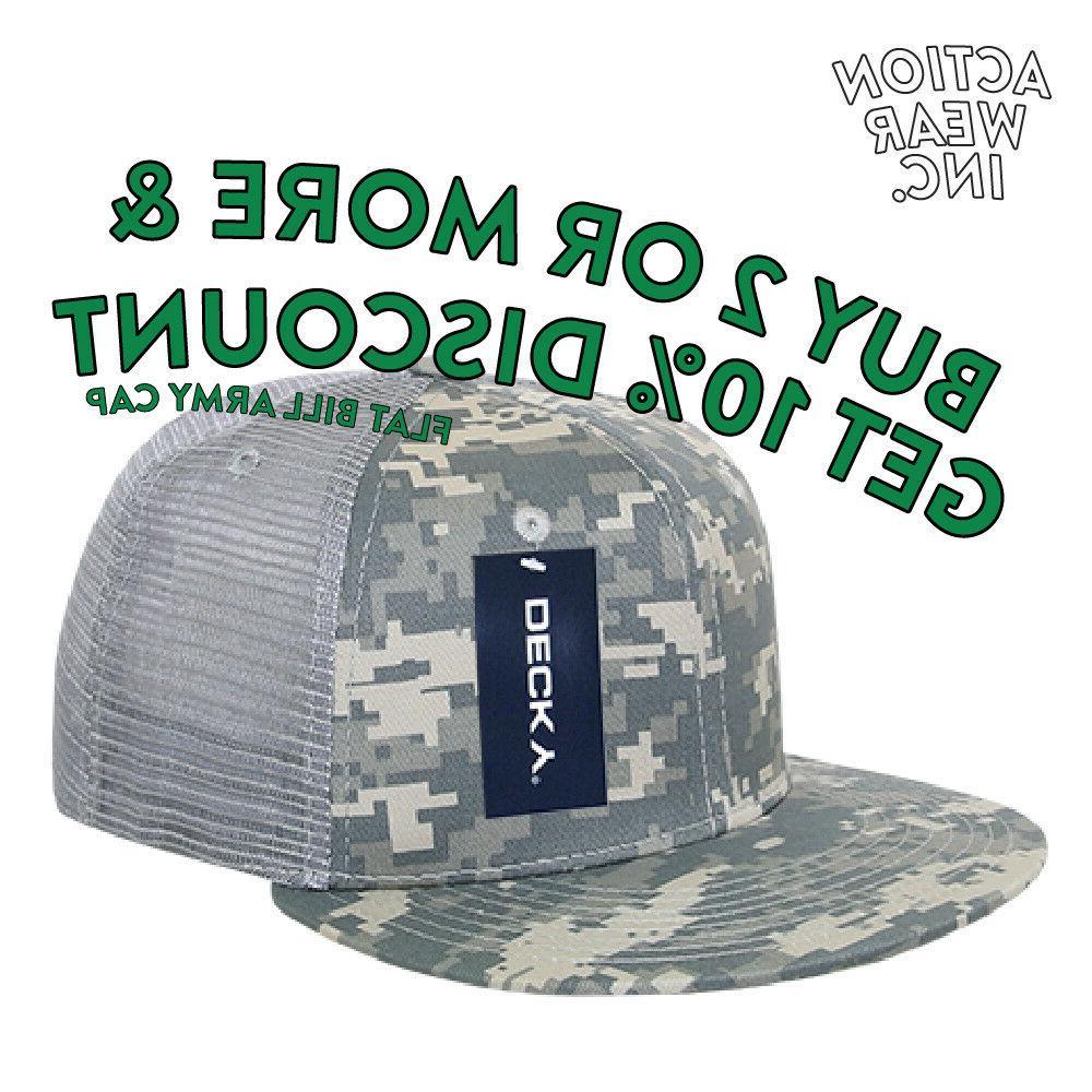 mens army mesh trucker hat baseball hats