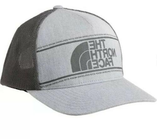 mens keep it structured gray trucker hat