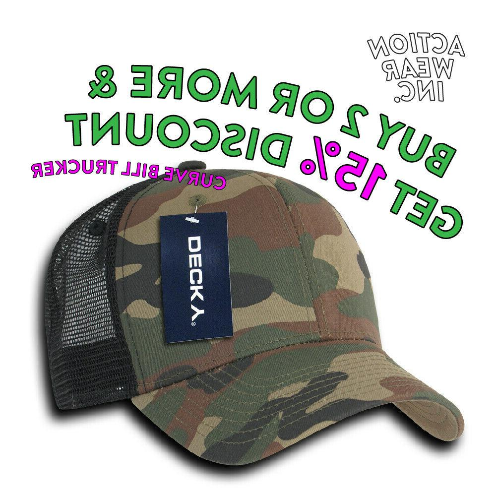mens mesh trucker hat hats snapback curved