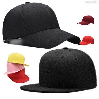 Mens Plain Stretch Trucker Hat Baseball cap