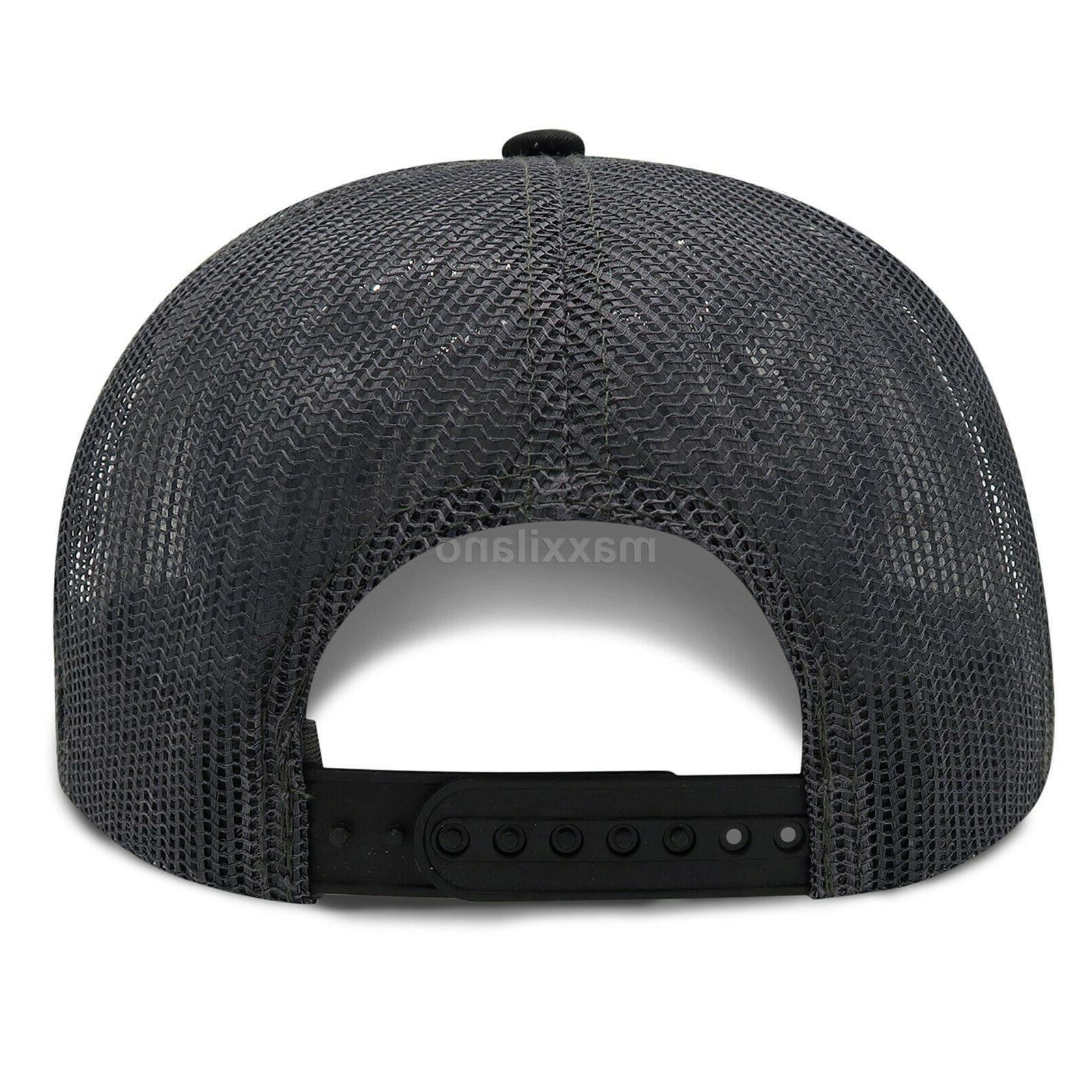 Mens Snapback Hat Flat Hop Style