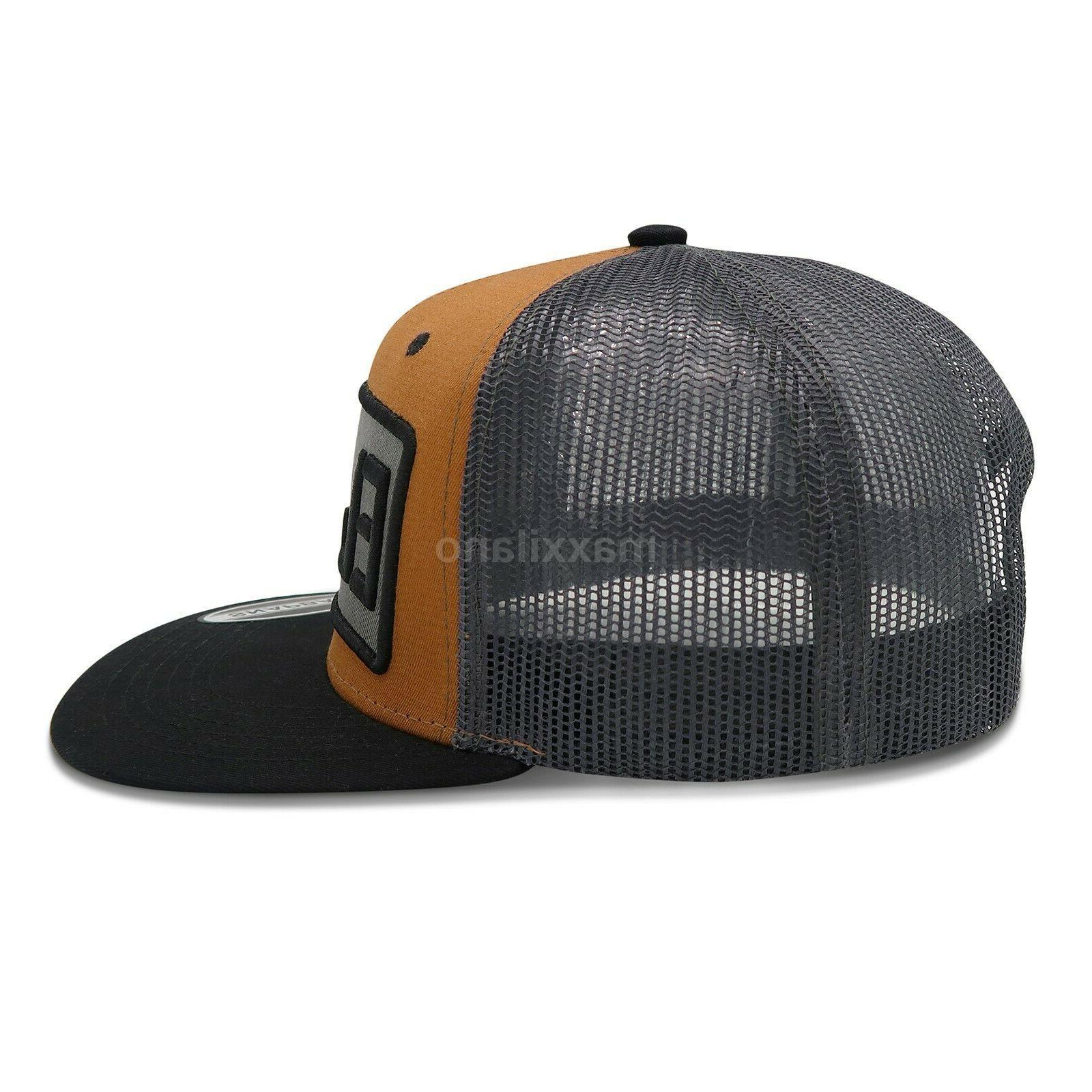 Mens Adjustable Size Hats Flat Hop