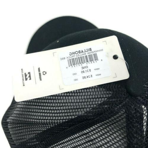 Billabong Hat Snapback Black Size