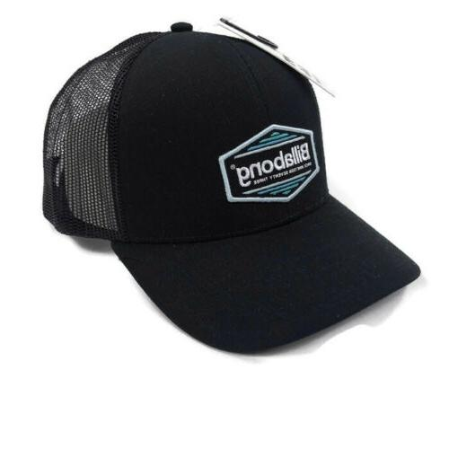 mens trucker cap hat snapback black one