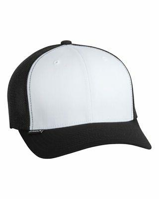 Flexfit Trucker Hat Ball Solid Plain