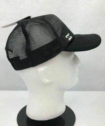 Billabong Mens Trucker Mesh Cap Adjustable Black One