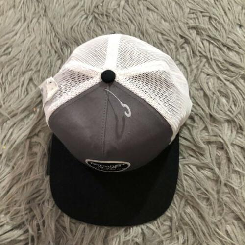 Brixton Wheeler Cap Snapback Gray White Size New