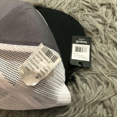 Brixton Wheeler Cap Snapback Gray One Size